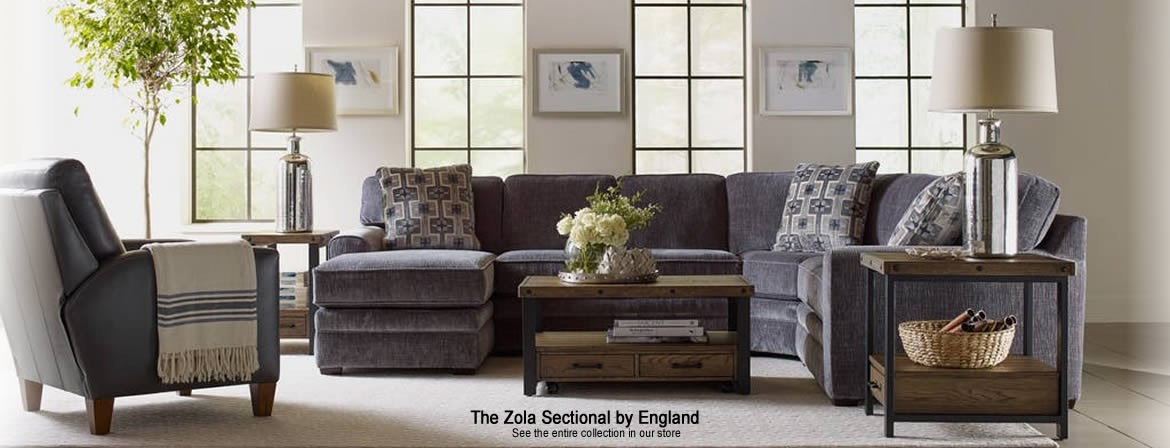 The Zola Sectional by England